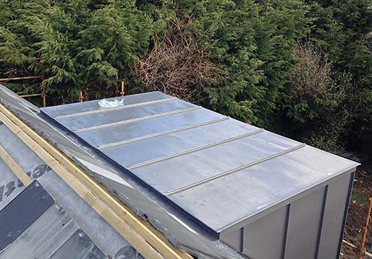 Steel Roofing Project